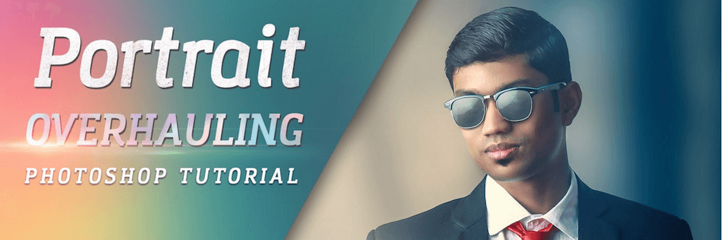 Dramatic Portrait Retouch Tutorial