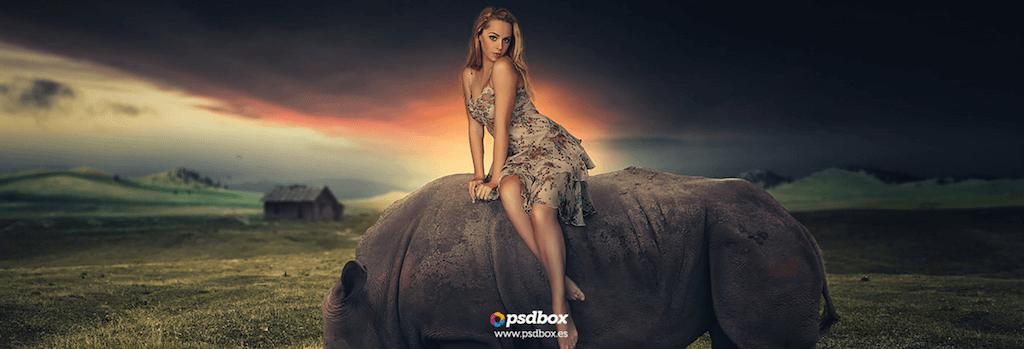 Dramatic Sunset Photoshop Manipulation