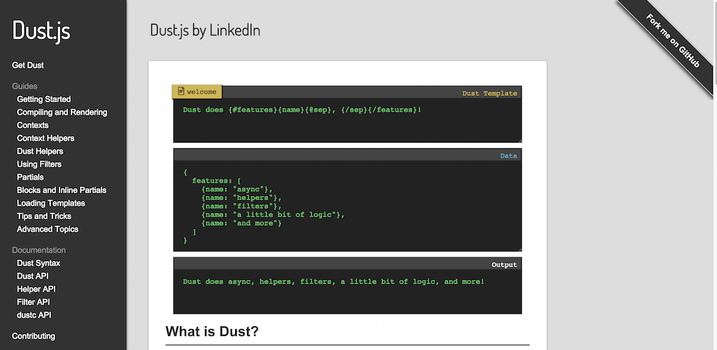 Dust.js by LinkedIn