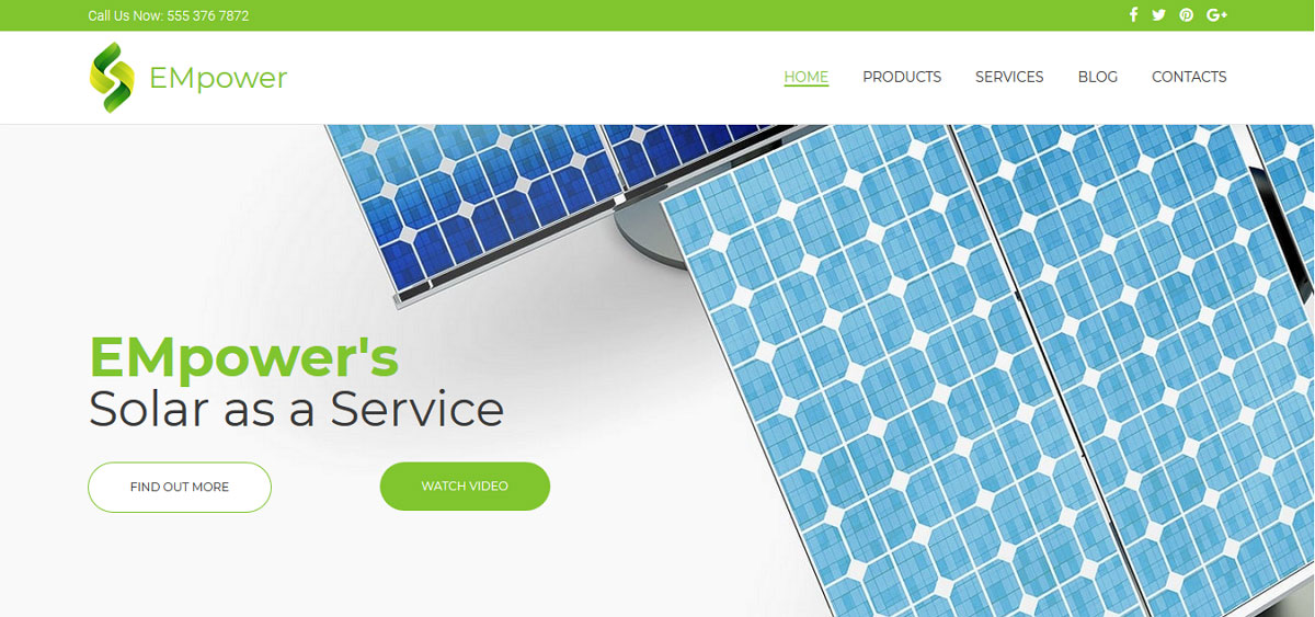 solar system website bootstrap templates free download