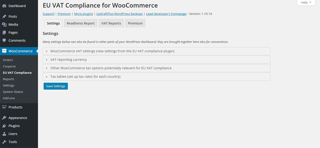 EU VAT Compliance for WooCommerce