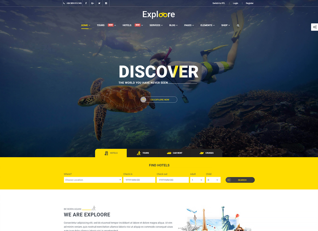 Tour Booking Travel - EXPLOORE Travel