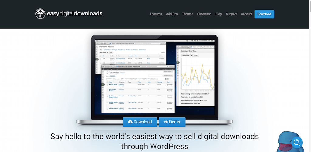 Easy Digital Downloads Sell Digital Downloads with WordPress