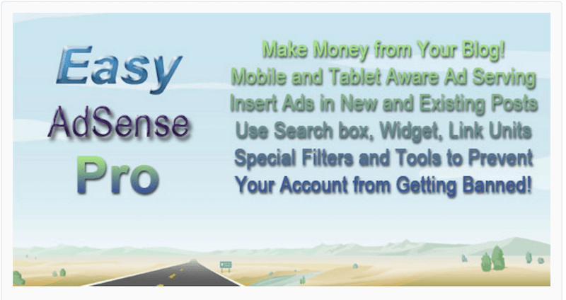 Easy Plugin for AdSense Pro