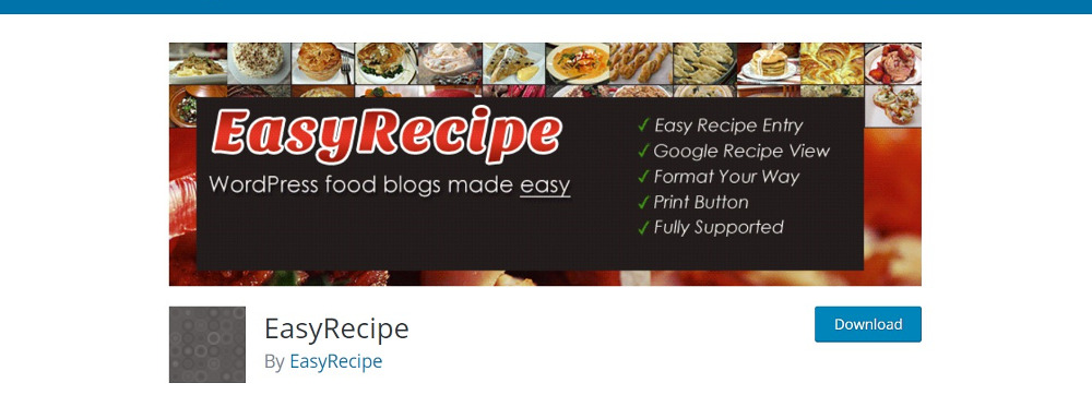 The fifteen best wordpress recipe plugins for 2017 easy recipe forumfinder Gallery