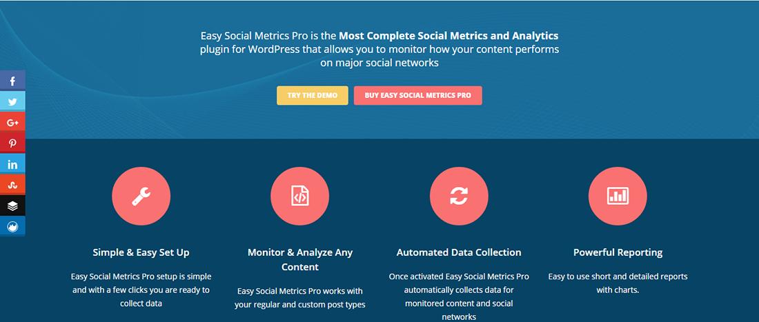Easy Social Metrics Pro
