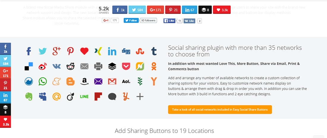 Easy Social Share Buttons 1