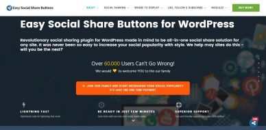 Easy Social Share Buttons For WordPress Plugin Review