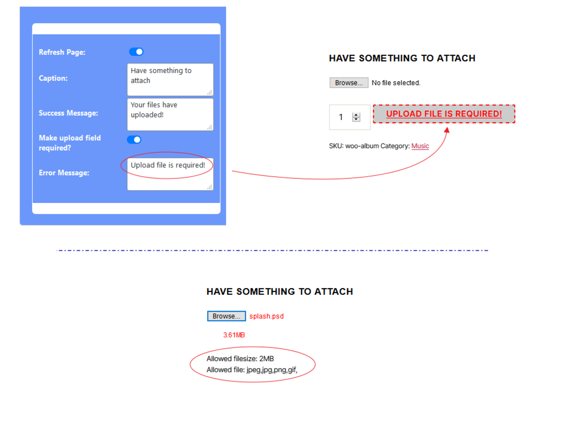 User-friendly WooCommerce File Upload Plugins