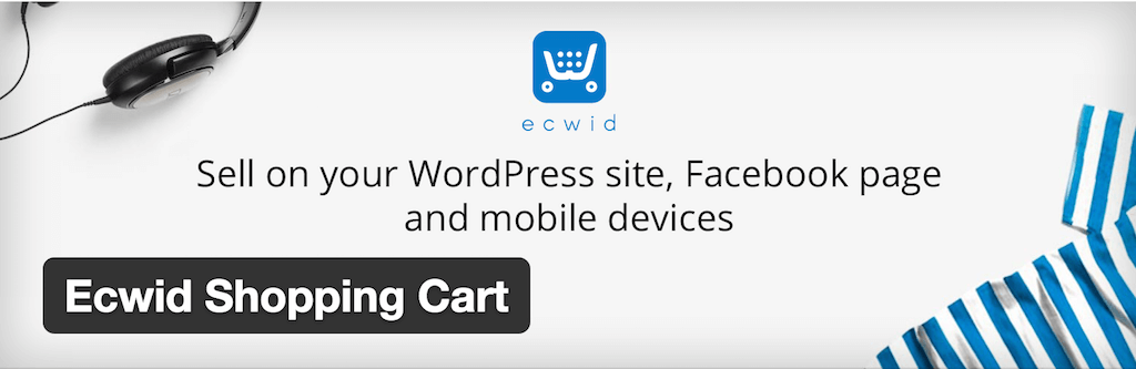 Ecwid Shopping Cart — WordPress Plugins