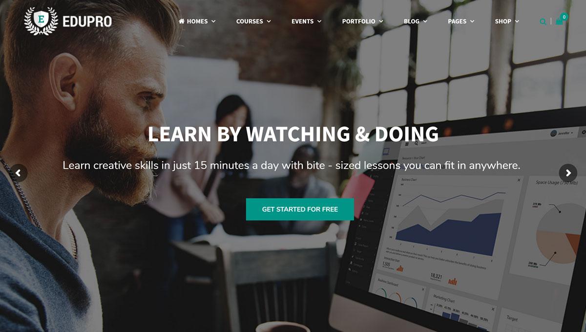 EduPro Theme Review: A Multi-Purpose WordPress Education Theme