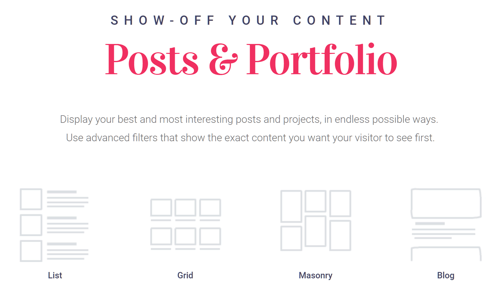 Create post grids