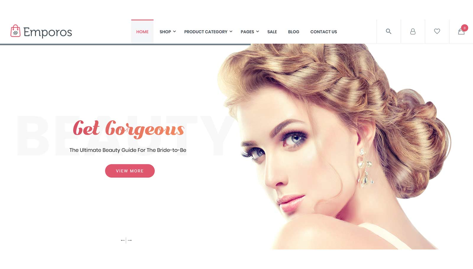 Cosmetic Store Demo