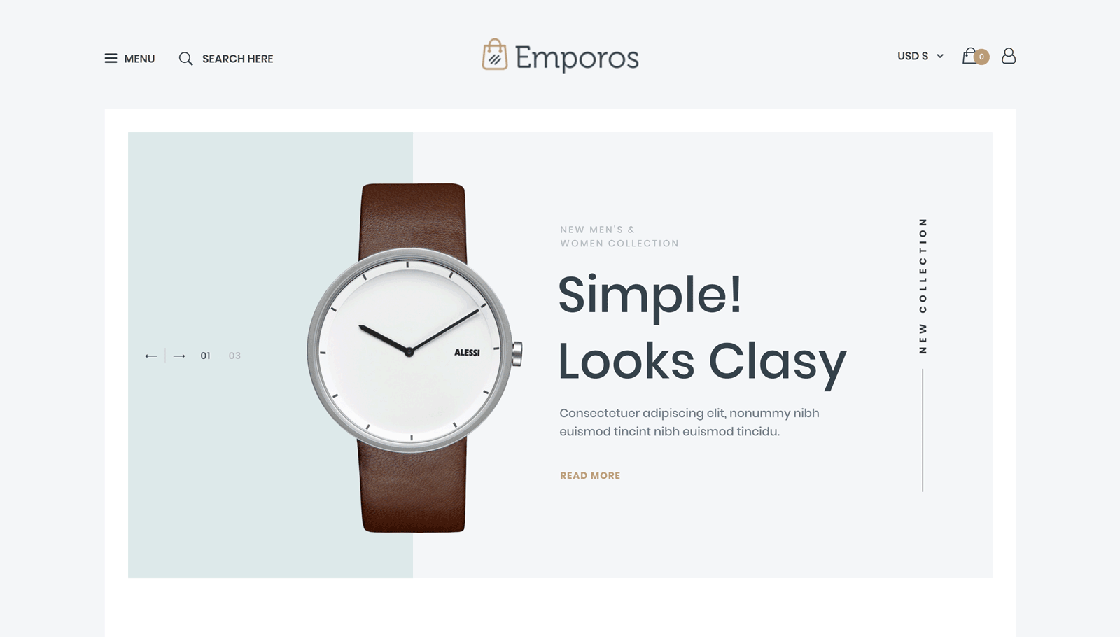 Watch Store Demo
