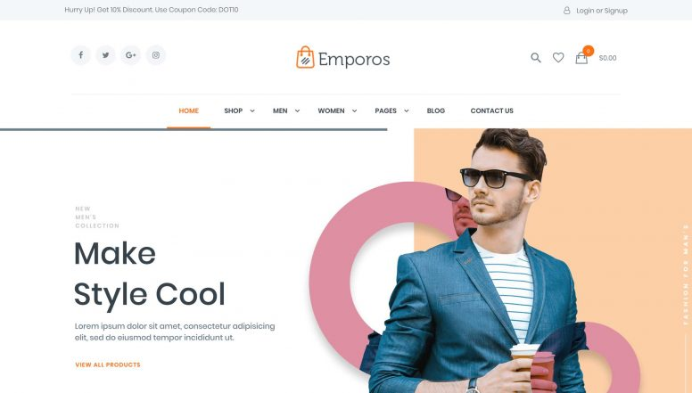 Emporos WooCommerce Theme Review FT