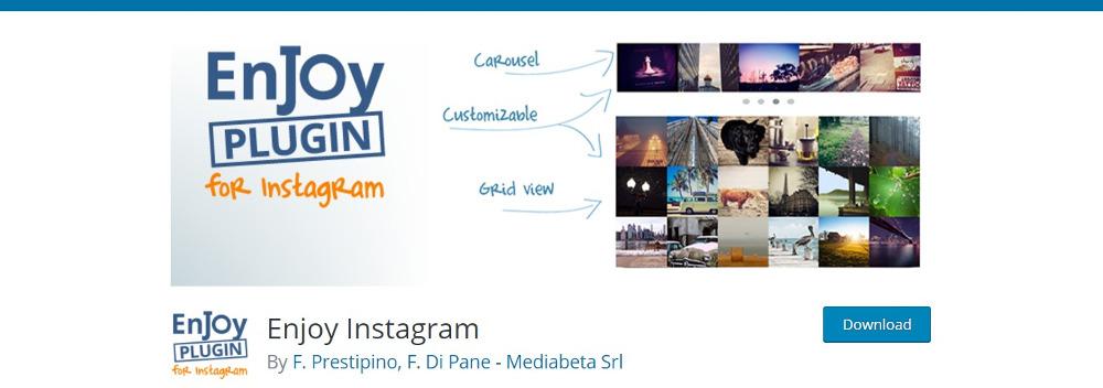 Enjoy Instagram