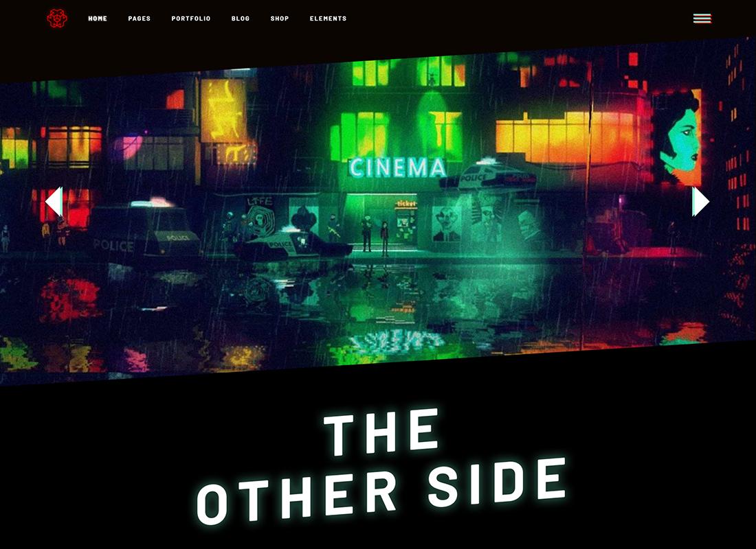Entropia - Gaming and Game Development Studio Theme