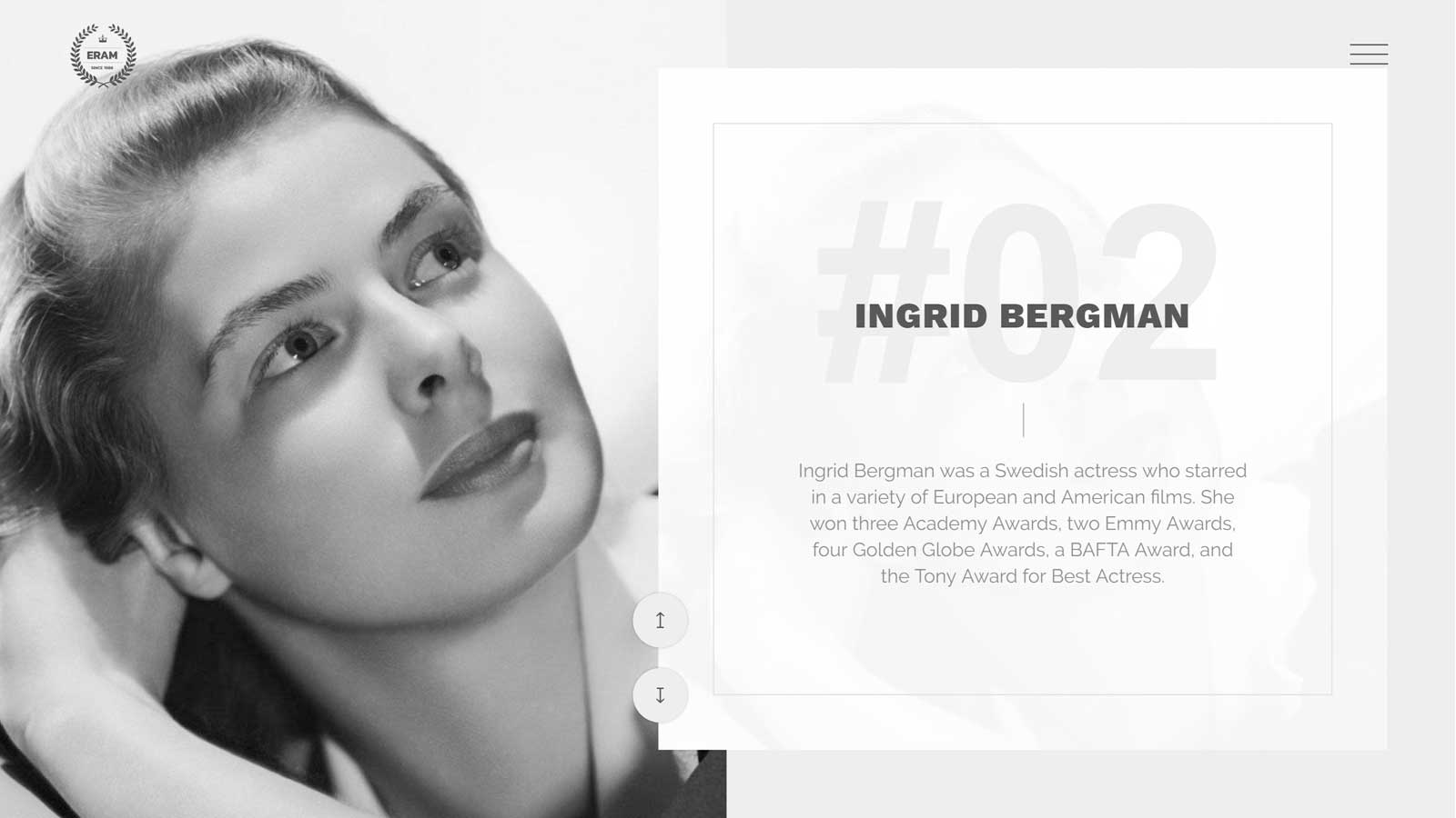 Eram Theme Review Ingrid