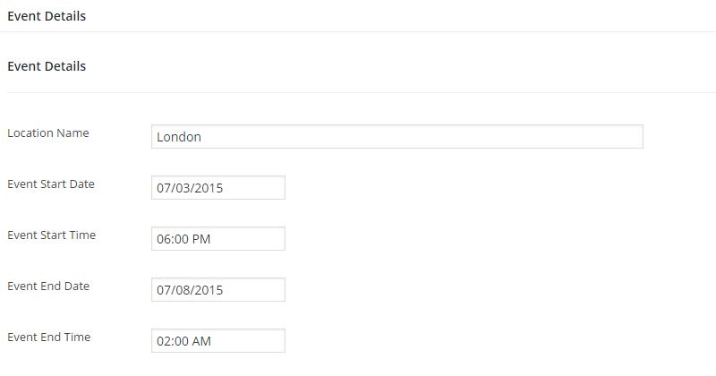 EventBuilder Event Details