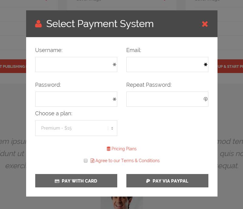 EventBuilder Payment Form