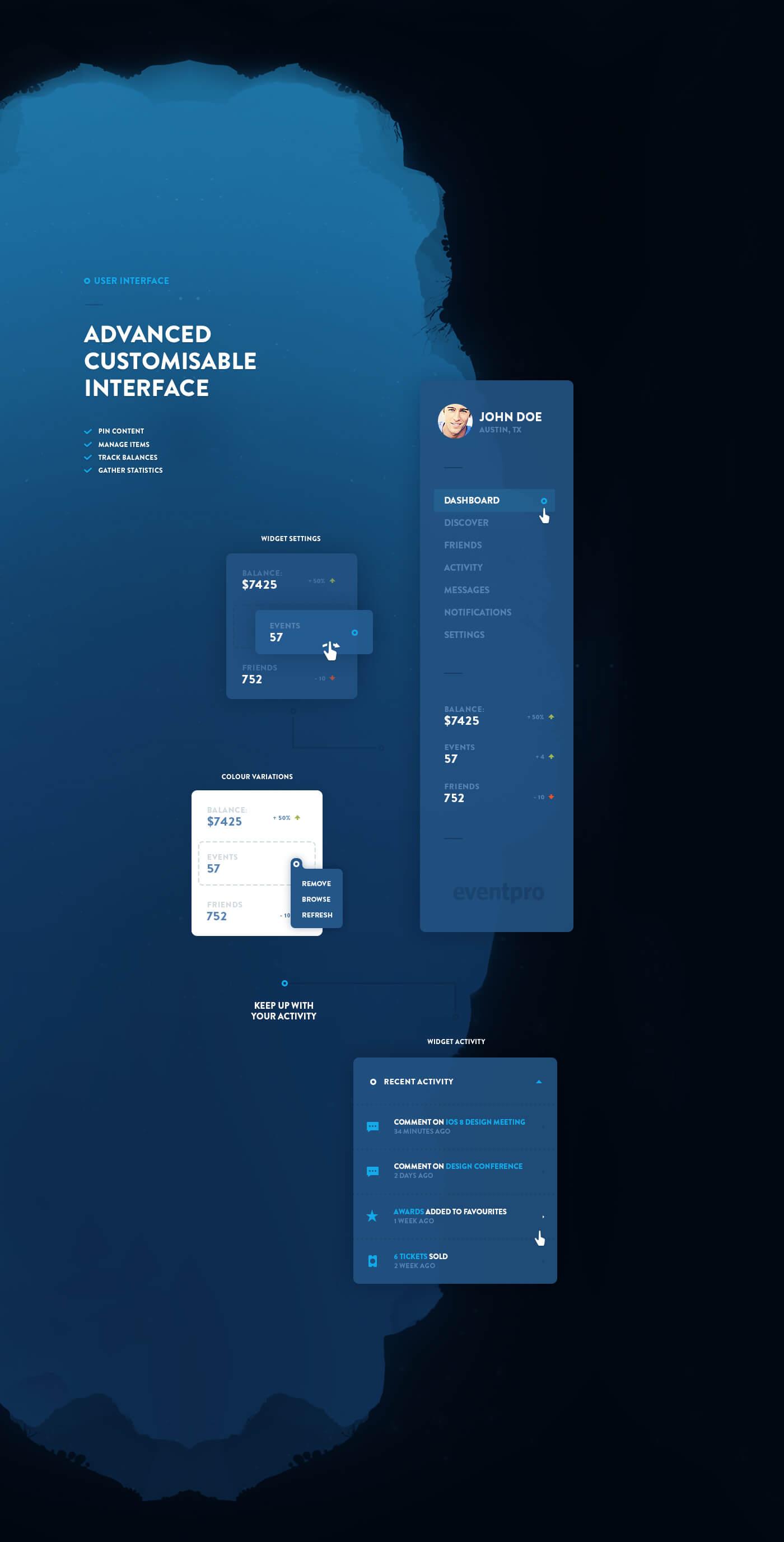 EventPro UI Kit