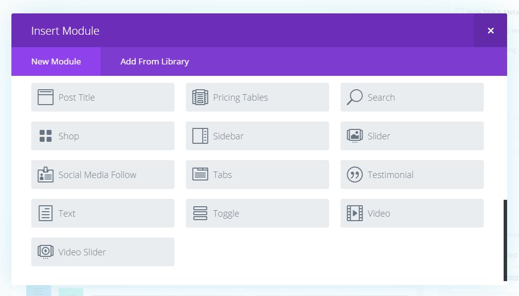 Extra WordPress Theme Review Divi Modules