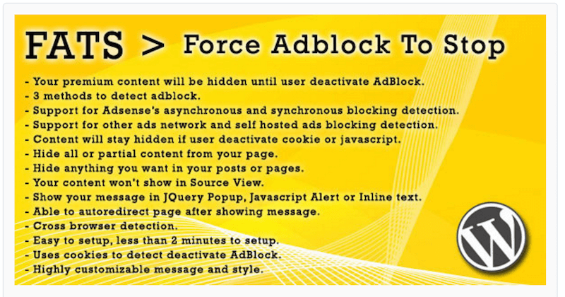 Force Adblock To Stop