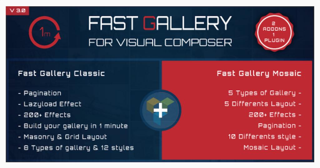 Fast Gallery for Visual Composer WordPress Plugin WordPress