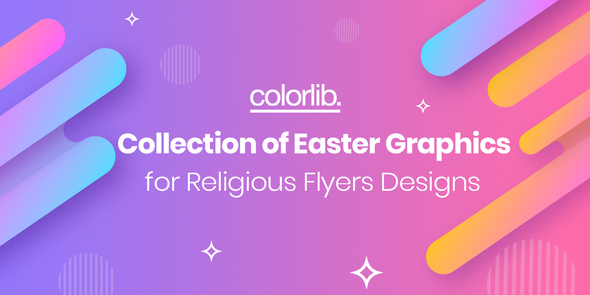 Collection Of Easter Graphics For Religious Flyers Designs