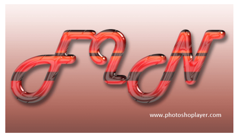 Fine Glass Text Effect In Photoshop CS6