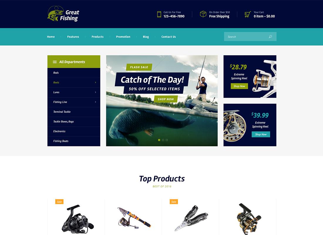Golf Club - Sports & Events WordPress Theme