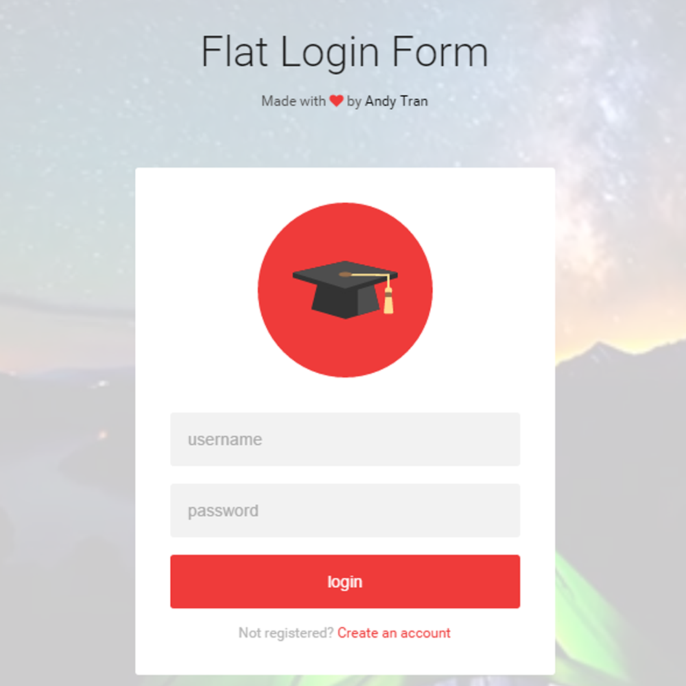 Login Form Free Demirediffusion