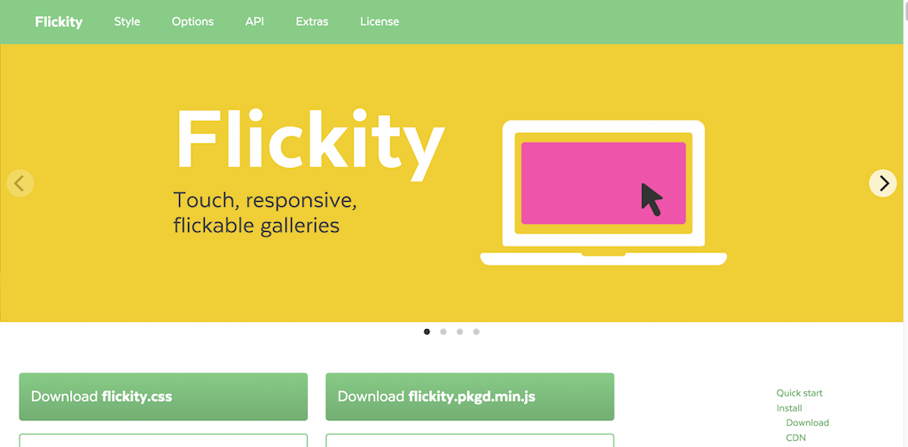 Flickity