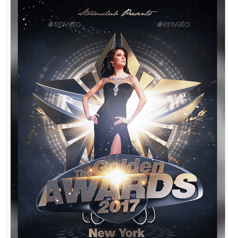 Flyer for Award Events