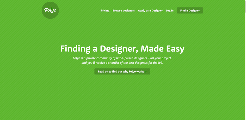 Folyo Helping companies find great designers