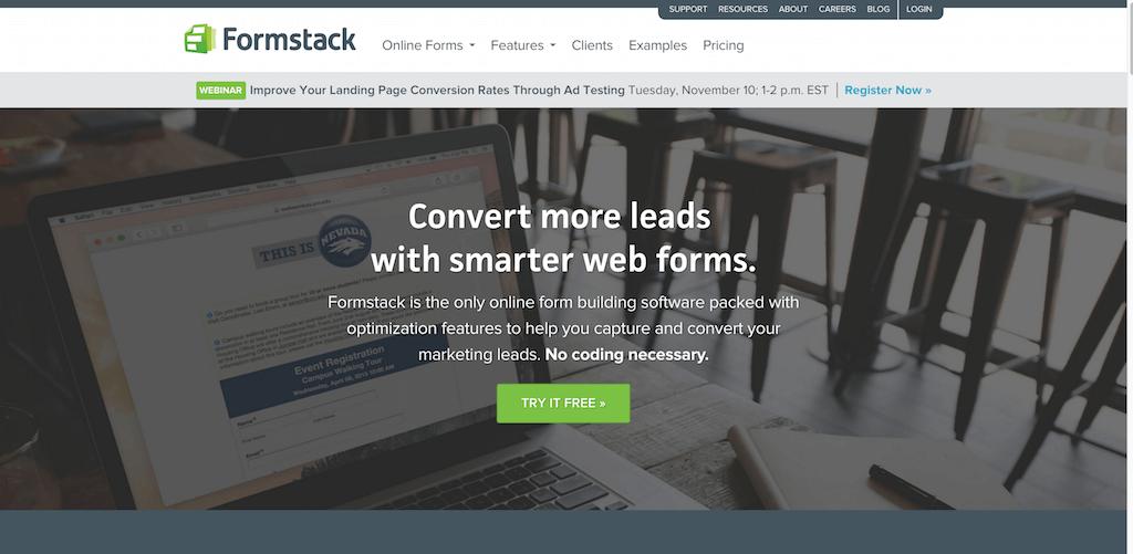 Formstack · Online Form Builder