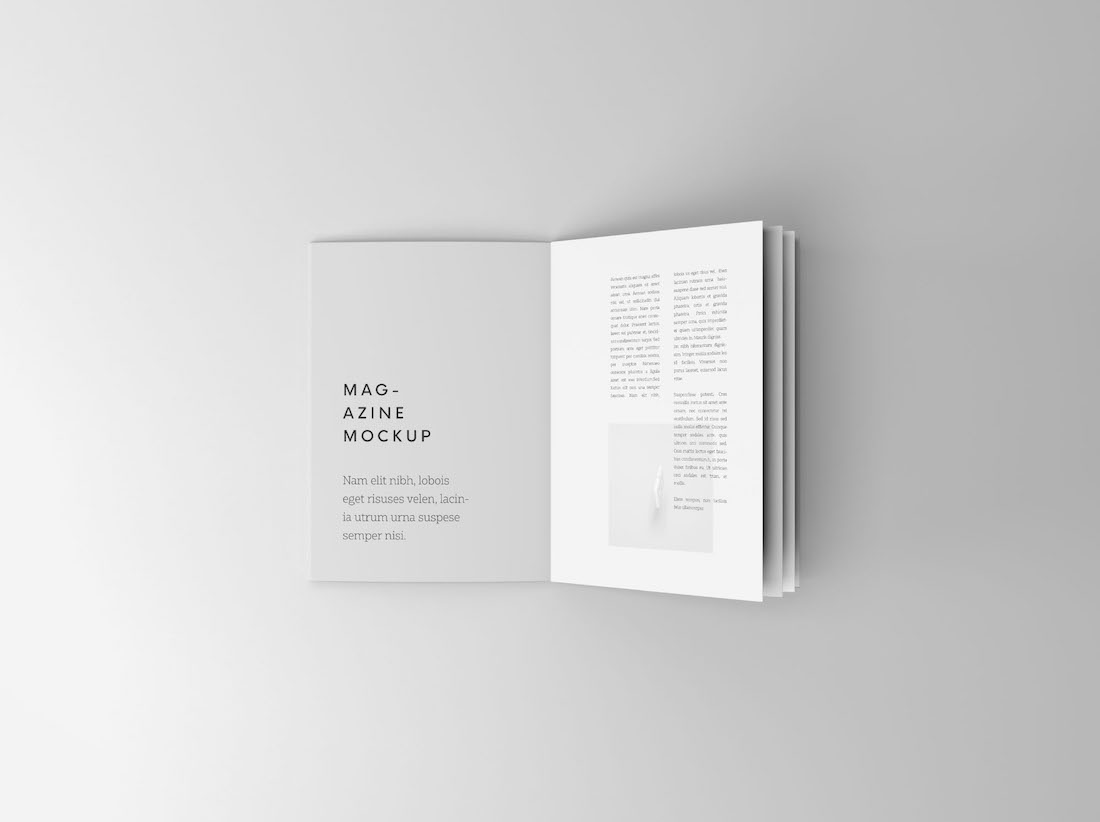 Free Booklet Mockup