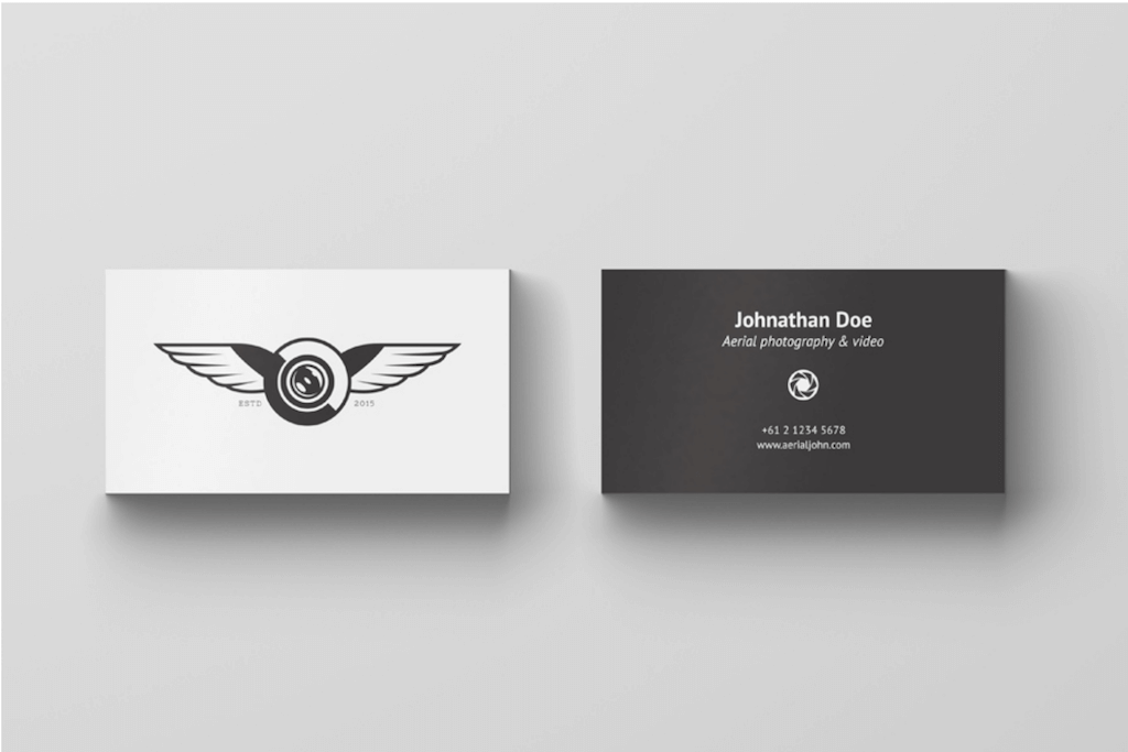 Free Business Card Mockup by Alex Andr