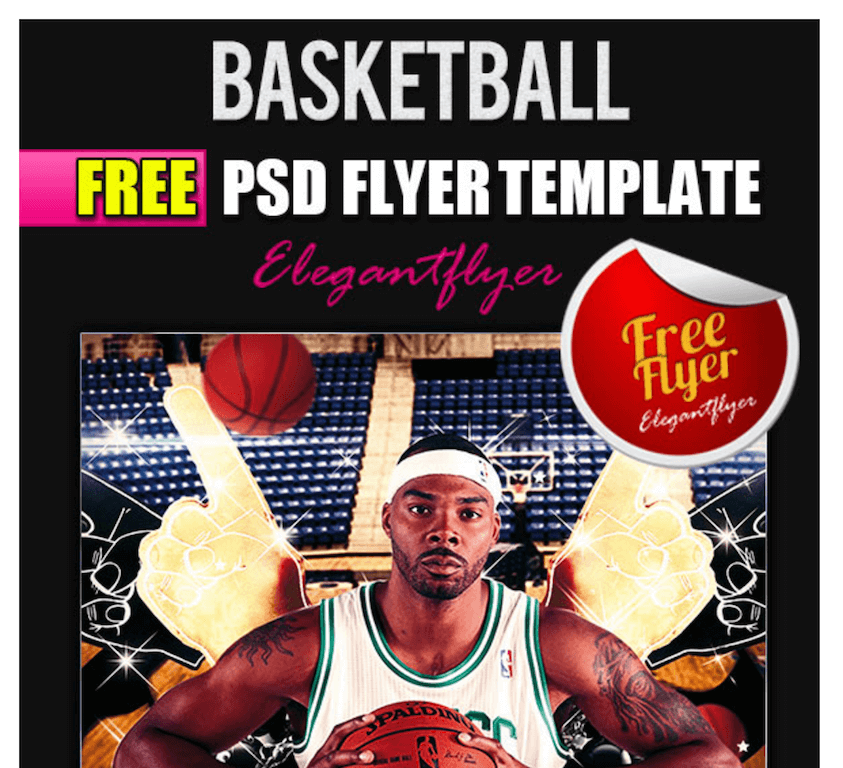 Free Flyer for Basketball Games