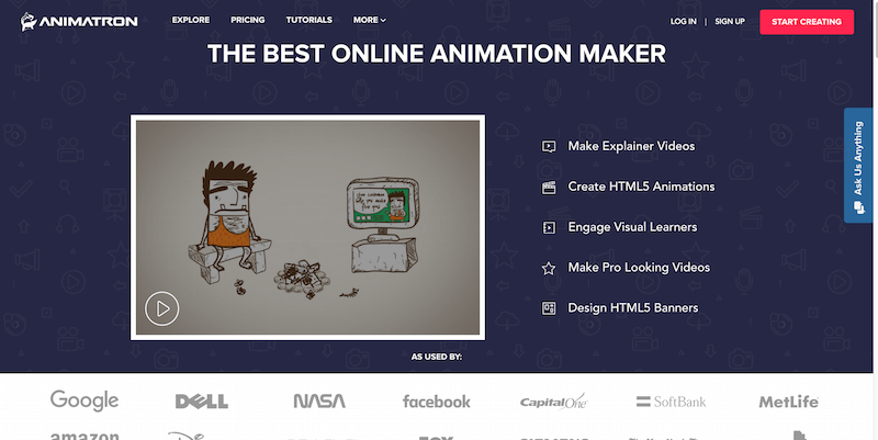 Free HTML5 Online Animation Maker