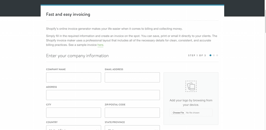 Beautiful Free Invoice Generator Online Invoice Maker