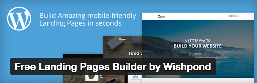Free Landing Pages Builder by Wishpond — WordPress Plugins