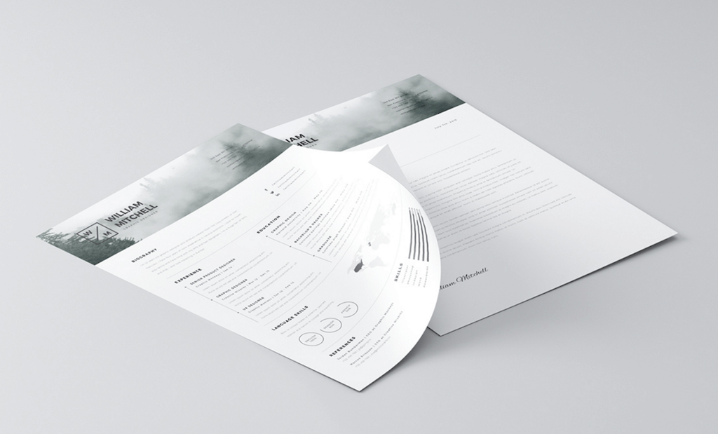Free Minimalistic & Clean Resume by Mats-Peter Forss