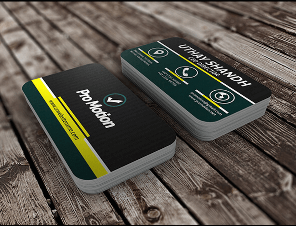 Free Modern Business Card Template Download on Behance
