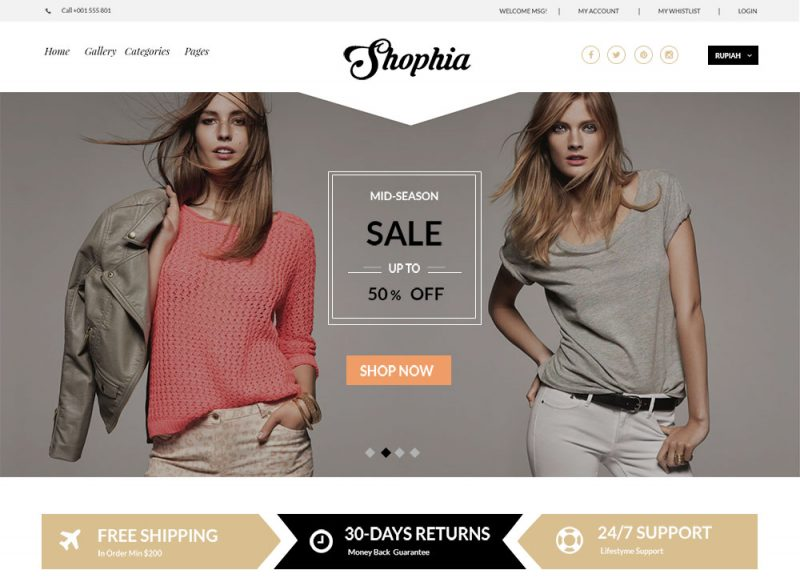 12 Free E-Commerce PSD Templates To Build An Impressive Online Store