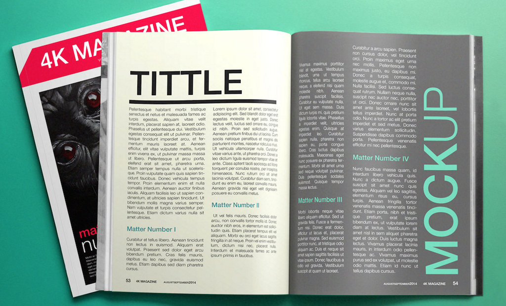 free magazine template - Etame.mibawa.co