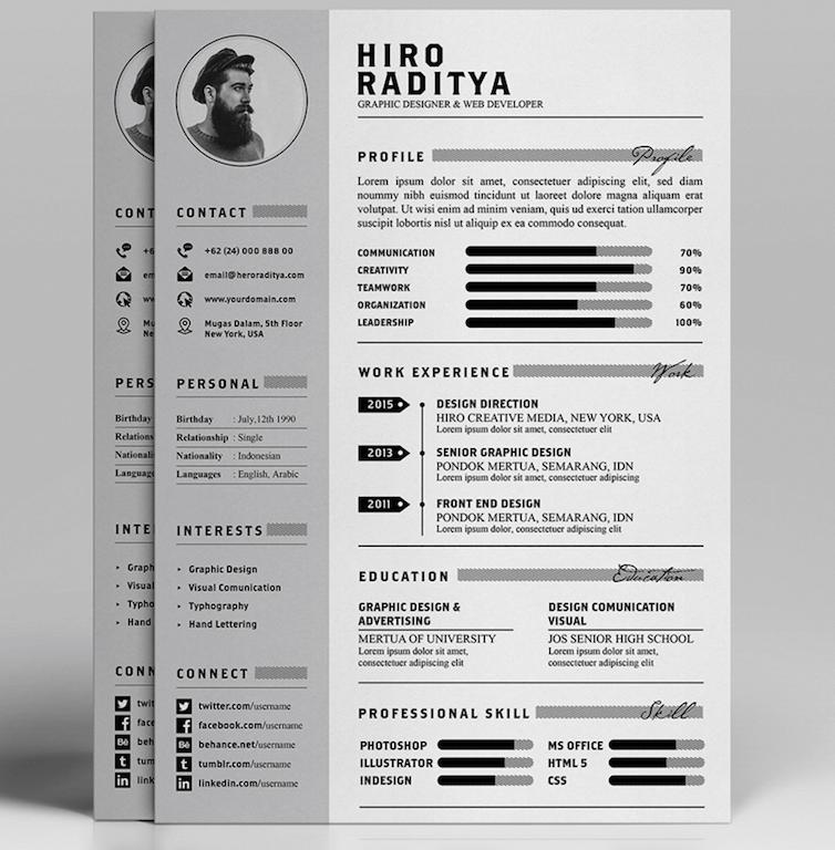 Resume Layout Design Download
