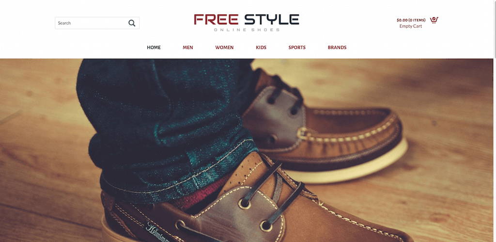 Top Free ECommerce Website Templates Built With Bootstrap - Free ecommerce website templates shopping cart