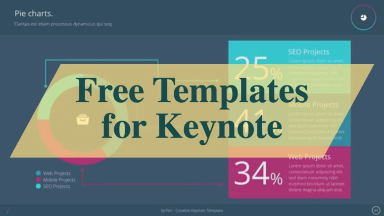 Top Free Templates For Apple Keynote Colorlib - Luxury conference planning template scheme