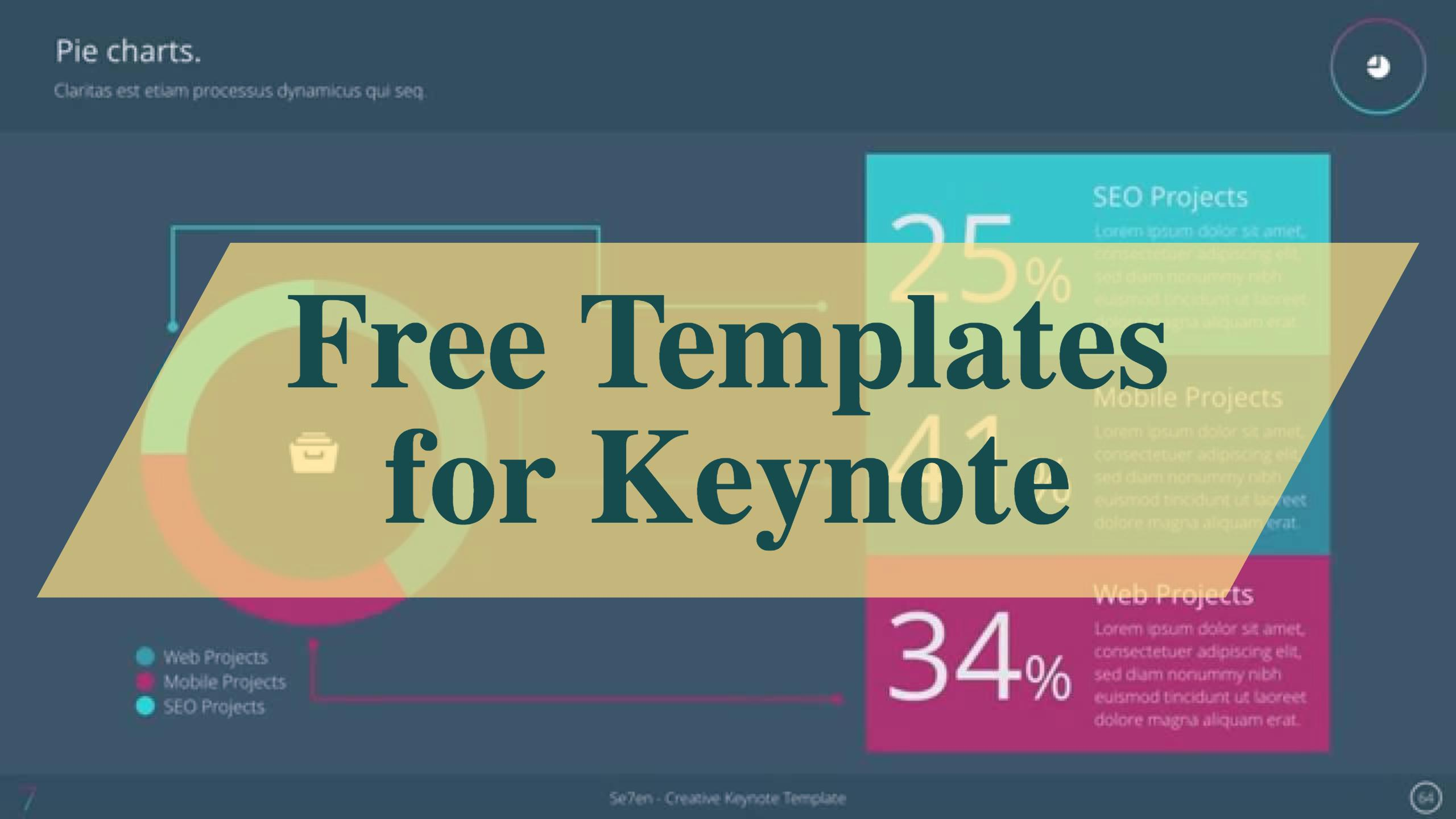 top 30 free templates for apple keynote 2017 - colorlib, Presentation templates